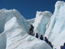 Hiking up the glacier was an amazing experience. Every one should add this to their itinerary!, Brenda O - October 2009