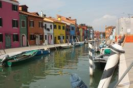 Burano. We found a green-grocer and ate grapes as walked in the quiet tourist free streets and lanes., Peter S - September 2010