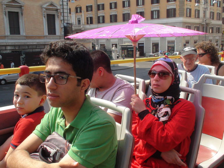 On the Bus - Rome