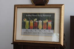 Photo of Singapore Raffles Hotel Singapore Half-Day Tour Singapore Sling Menu