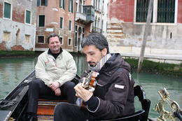 Photo of Venice Private Tour: Venice Gondola Ride with Serenade Talented Musicians