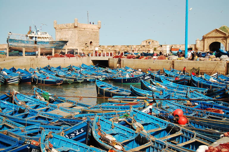The port - Marrakech