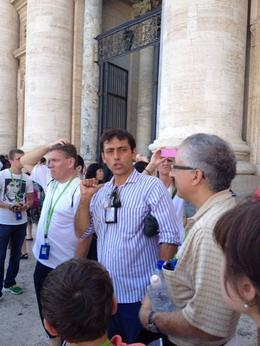 Photo of Rome Skip the Line: Vatican Museums, Sistine Chapel and St Peter's Basilica Half-Day Walking Tour This is a picture of our guide!!