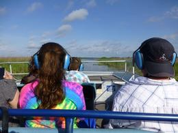 We are desperately searching for alligators and other wildlife. SAw only cows and one bird. Perhaps you can tell it was not a very successful day on the everglades. The airboat experience was quite ... , Rachel M - October 2012