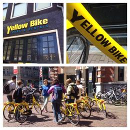 Photo of Amsterdam Small-Group Amsterdam Bike Tour Yellow Bike