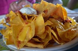 Delicious nachos at Margaretville! , Tess P - March 2015