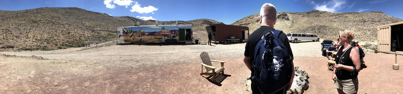 Outdoor Shooting Range Experience in Las Vegas