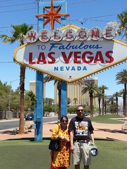 Photo of Las Vegas Ultimate Las Vegas City Tour At the famous Welcome to Las Vegas Nevada sign.