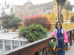 Barranco, Lima , Leonila C - July 2013