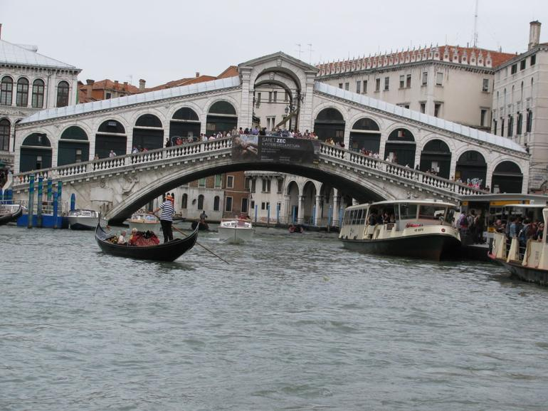 Bridge over Grand Canal - Venice