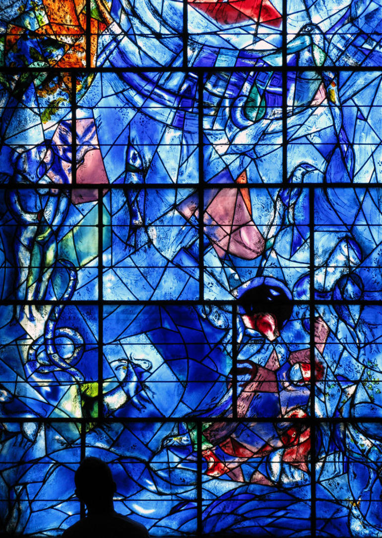 Chagall stained glass - Nice