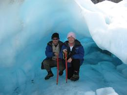 The ice is so blue and the formations and ice caves have to be seen to be believed., Brenda O - October 2009