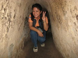 Photo of Ho Chi Minh City Private Tour: Cu Chi Tunnels and Cao Dai Temple Full-Day Tour from Ho Chi Minh City Cu Chi Tunnel