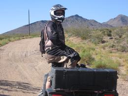 Photo of Las Vegas Hidden Valley and Primm ATV Tour Dan Waiting On Everyone to Get Up The Hill!