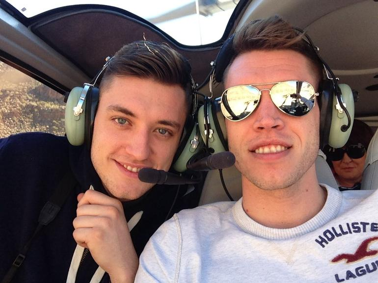 Dans 21st helecopter ride in the Grand Canyon - Las Vegas