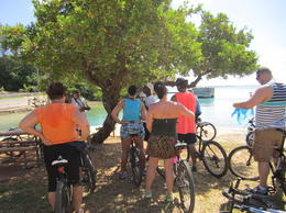 Photo of Bermuda Bermuda Shore Excursion: Railway Trail Bike and Beach Tour Group shot