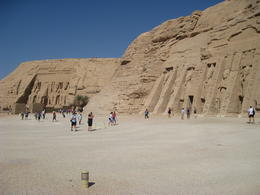 Rames and Nefretari Temples at Abu Simbel , Ronald M - September 2011