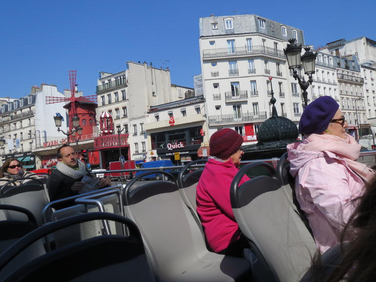 L'open bus tour - Paris