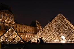 Photo of Paris Paris Night Bike Tour Louvre