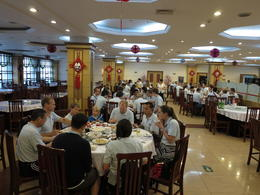 Lunch at the Jade Factory, Cat - July 2012