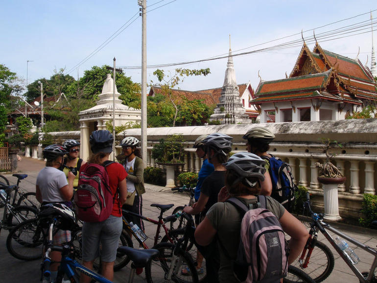 On Bike Tour of Bangkok - Bangkok