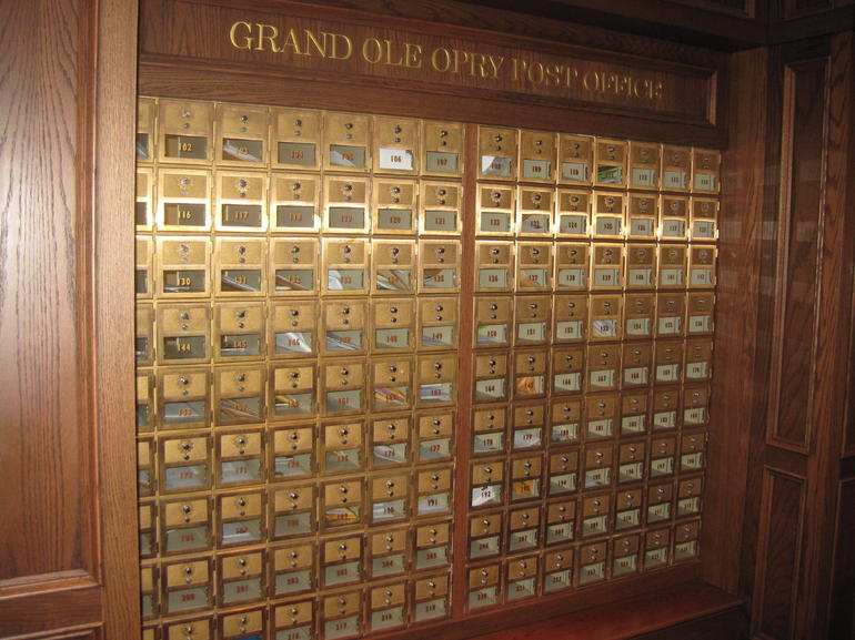 Opry mailboxes - Nashville