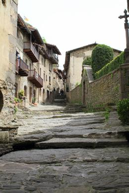 Alleyway in the small village of Rupit. , SpindleA - May 2014