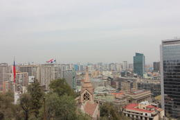 View of Santiago from the Santa Lucia Hill., Bandit - October 2013
