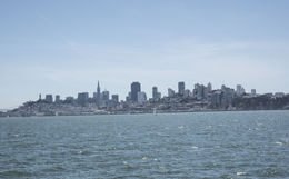 View of San Francisco from Champagne Brunch Cruise , Cynthia F - September 2015