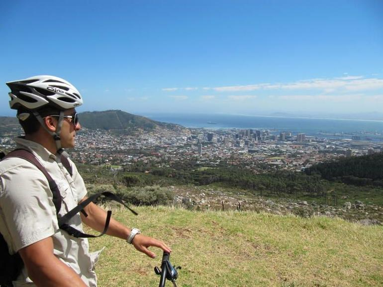 Table Mountain mountain biking - Cape Town