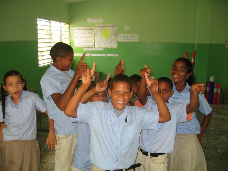 The local primary school - Punta Cana