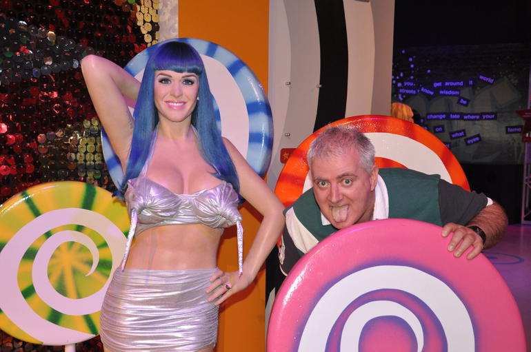 With Katy Perry - Las Vegas
