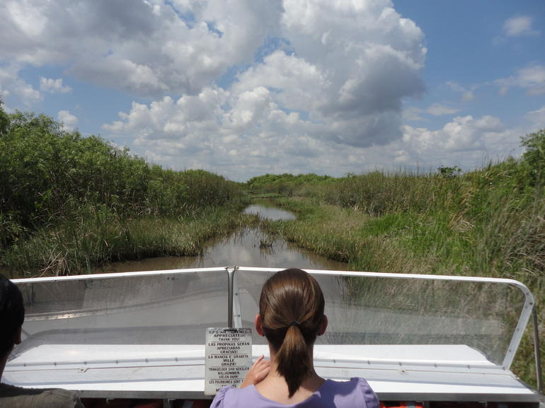 Air Boat Ride - Miami