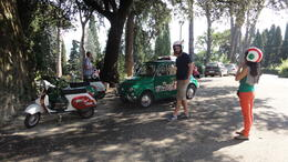 Photo of Florence Florence Vespa Tour: Tuscan Hills and Italian Cuisine Classic 1980's Vespas