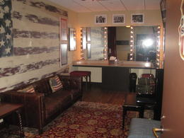American Heroes themed dressing room , clairemc - August 2011