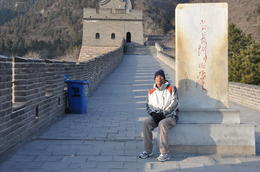 Photo of Beijing Great Wall of China at Badaling and Ming Tombs Day Tour from Beijing First to arrive at Great Wall! Pristine and surreal!