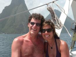 Photo of St Lucia St Lucia Catamaran Day Sail Mr and Mrs