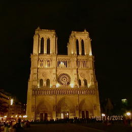 Photo of Paris Ghosts, Mysteries and Legends Night Walking Tour of Paris Notre Dame at night