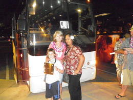 The bus tour was fantastic.. this is Me, my daughter and Cousin Flo! , Petronella m - September 2011