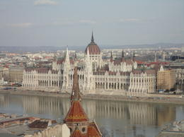 A wonderful view across the Danube to The Parliament Buildings, Angela H - March 2013
