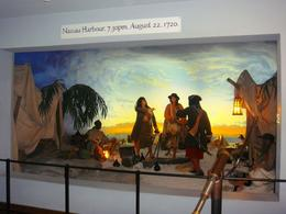 Depiction of three (two female) pirates in Nassau , Leah - July 2011