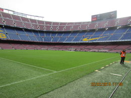 Photo of Barcelona FC Barcelona Football Stadium Tour and Museum Tickets Pitch Side View