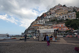 Another view of Positano from the shoreline. , Rick Reynolds - June 2013