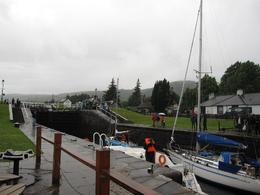 not the best day to go on Loch Ness - August 2010