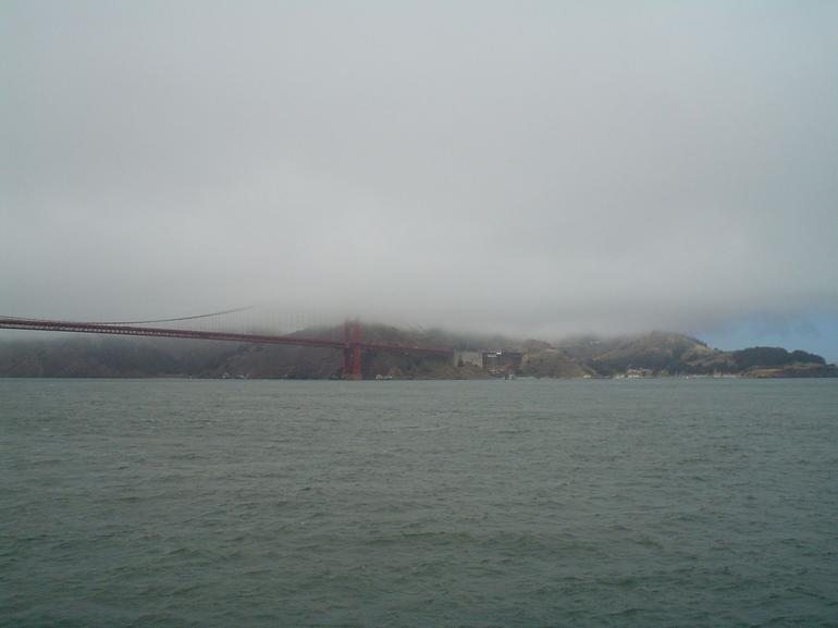 Sail under the Golden Gate Bridge - San Francisco