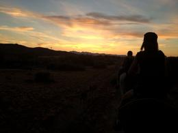 Photo of Las Vegas Wild West Sunset Horseback Ride with Dinner Setting sun