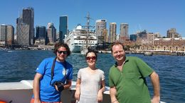Sydney's Hop on Hop off cruise - March 2015