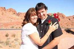 Photo of Las Vegas Valley of Fire Wedding by Private Limousine Valley of Fire photo 2 Stacie  and  Marc