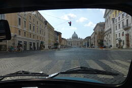 Photo of Rome Private Tour: Rome Sightseeing by Vintage Fiat 500 Vatican from Fiat 500