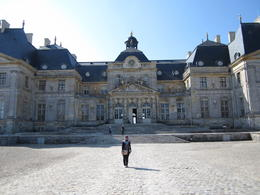 The main entrance of Chateau Vaux le Vicomte , nayu2955 - September 2013